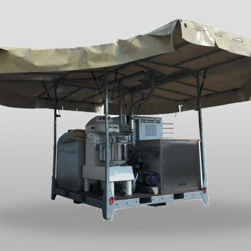 MOBILE FIELD BAKERY TEX CBC 300 HJ