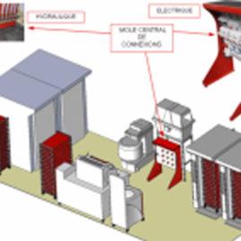 Boulangerie d'infrastructure TEX 2000 HJ kit môle SR